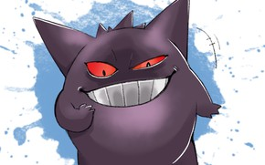 Picture smile, pokemon, Pokemon, Gengar