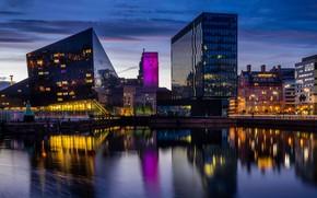 Picture England, Liverpool, Консервный док, река Мерси