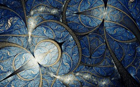 Picture blue, pattern, color