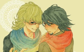 Picture anime, art, guys, heroes, Kotetsu, tiger and Bunny, Tiger and Bunny, Barnaby