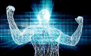 Picture power, man, empower