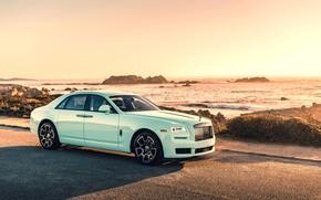 Picture blue, Luxury, Rolls-Royce Ghost