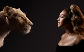 Picture girl, actress, lioness, The Lion King, The Lion King