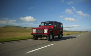 Picture asphalt, Land Rover, Defender, 2013, Defender 110