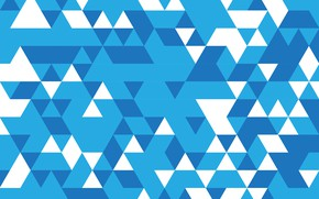 Picture abstraction, geometry, Abstract, blue, background, mosaic