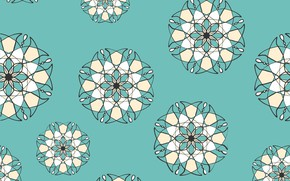 Picture flowers, design, background, pattern, figure, texture, abstract