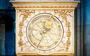 Picture France, Lyon Cathedral, Astronomical clock