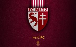 Picture wallpaper, sport, logo, football, Ligue 1, Metz