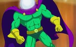 Picture cloak, the illusionist, Mysterio, Spider-Man The Animated Series, Quentin Beck, мистерио