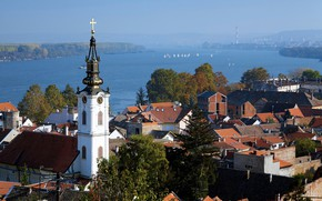 Picture House, Temple, boats, Serbia, Serbia, Belgrade, metal