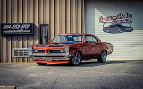 Picture Coupe, Pontiac, GTO, Vehicle