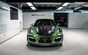 Picture 911, Porsche, front view, Turbo S, TechArt, 2019, GT Street RS
