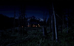 Picture HDR, Wood, Mountain, Night, Game, Farm, UHD, Red Dead Redemption 2, Xbox One X, RDR2, …
