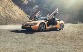 Picture coupe, sport car, BMW i8