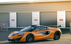 Picture coupe, McLaren, supercar, 2020, V8 twin-turbo, 620R, 620 HP, 3.8 L.