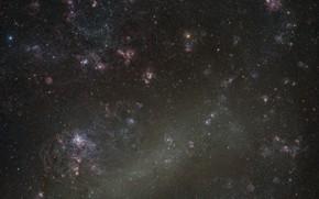 Picture space, BMO, LMC, The Large Magellanic Cloud, dwarf galaxy, Large Magellanic Cloud
