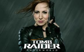 Wallpaper Tomb Raider, Lara Coft, Cosplay, Tomb Raider underworld