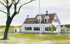 Picture 1931, Edward Hopper, Lombard's House