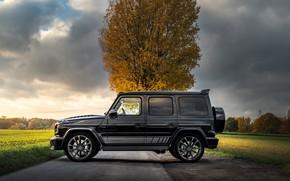 Picture Mercedes-Benz, side view, AMG, Inferno, G-Class, Gelandewagen, G63, Manhart, 2019, G 700