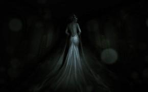 Picture Girl, Dress, The demon, Fantasy, Ghost, Art, Horror, Fiction, Women, Horror, Illustration, Horror, Creepy, RAY …