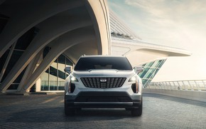 Picture the sky, transport, construction, car, Cadillac XT4