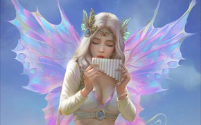 Picture decoration, wings, fairy, fantasy, art