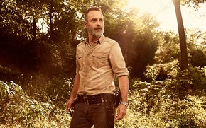 Picture The walking dead, frame, the series, beard, shirt, strap, male, the sun, Andrew Lincoln, Thriller, …