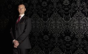 Picture wall, Wallpaper, Sherlock, Mark Gatiss, Mycroft Holmes, Sherlock BBC, Sherlock (TV series)