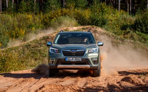 Picture Subaru, front view, crossover, Forester, 2019