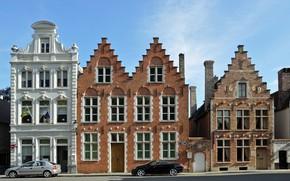 Picture home, Belgium, architecture, Bruges