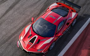 Picture asphalt, Ferrari, sports car, 488, Ferrari 488, Challenge Evo