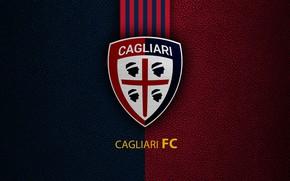 Picture wallpaper, sport, logo, football, Cagliari, Italian Seria A