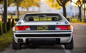 Picture white, BMW, feed, BMW M1, E26, M1