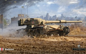 Picture WoT, World of Tanks, Wargaming, Manticore