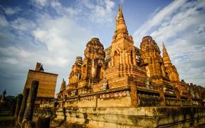 Picture Thailand, temple, Bangkok, Thailand, Bangkok, temple, Chiang Mai, Sukhothai, Chiang Mai, Sukhothai