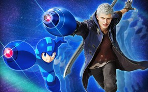Picture weapons, boy, guy, Devil May Cry, Devil May Cry 5