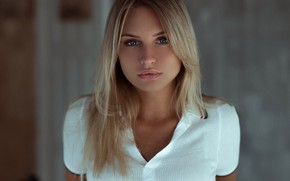 Picture look, hair, Girl, blonde, Polo, Andrey Firsov