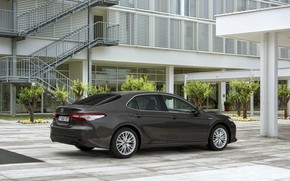 Picture yard, Toyota, sedan, structure, Hybrid, Camry, 2019