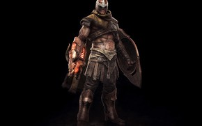 Picture weapons, armor, shield, Keos Masons, Mega Man in God of War, Proto Maor