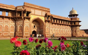 Picture the city, India, fortress, Agra, Agra, India, fort
