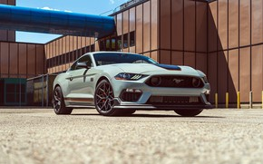 Picture Mustang, Ford, Mach 1, Handling Package, 2021