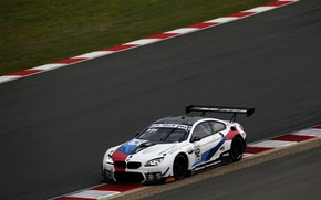Picture coupe, BMW, on the track, 2019, M6 GT3