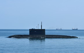 Picture boat, underwater, diesel, Rostov-on-don