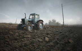 Picture tractor, Belarus, Belarus