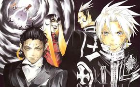 Picture anime, art, guys, D. Gray-man