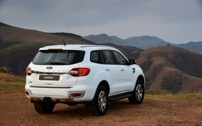 Picture Ford, Everest, the five-door, 2015, XLT