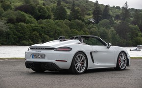 Picture Porsche, River, Spyder, Porsche 718, 2019, Porsche 718 ( 982 ) Spyder
