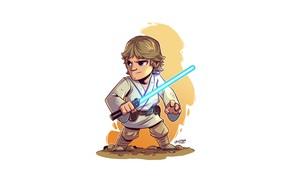 Picture Star Wars, Luke Skywalker, Derek Laufman