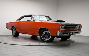 Picture Dodge, Coupe, Coronet, Muscle car, Six Pack, Modified
