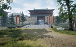 Picture mmorpg, perfect world, UE4